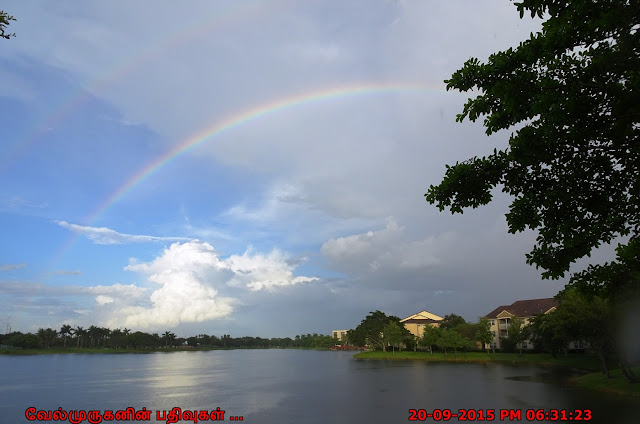 Rainbow in Miami Welleby Park