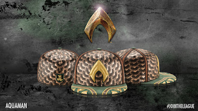 Justice League Movie Character Armor 59Fifty Fitted Hat Collection by New Era x DC Comics - Aquaman