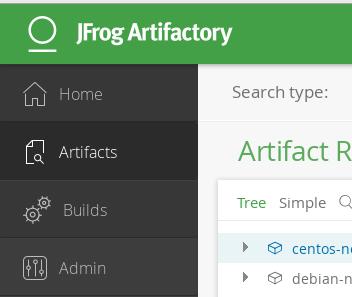 artifactory cfengine cache repository