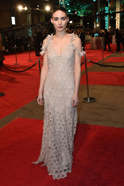 BAFTA 2016, Rooney Mara de Givenchy Haute Couture by Ricard Tici