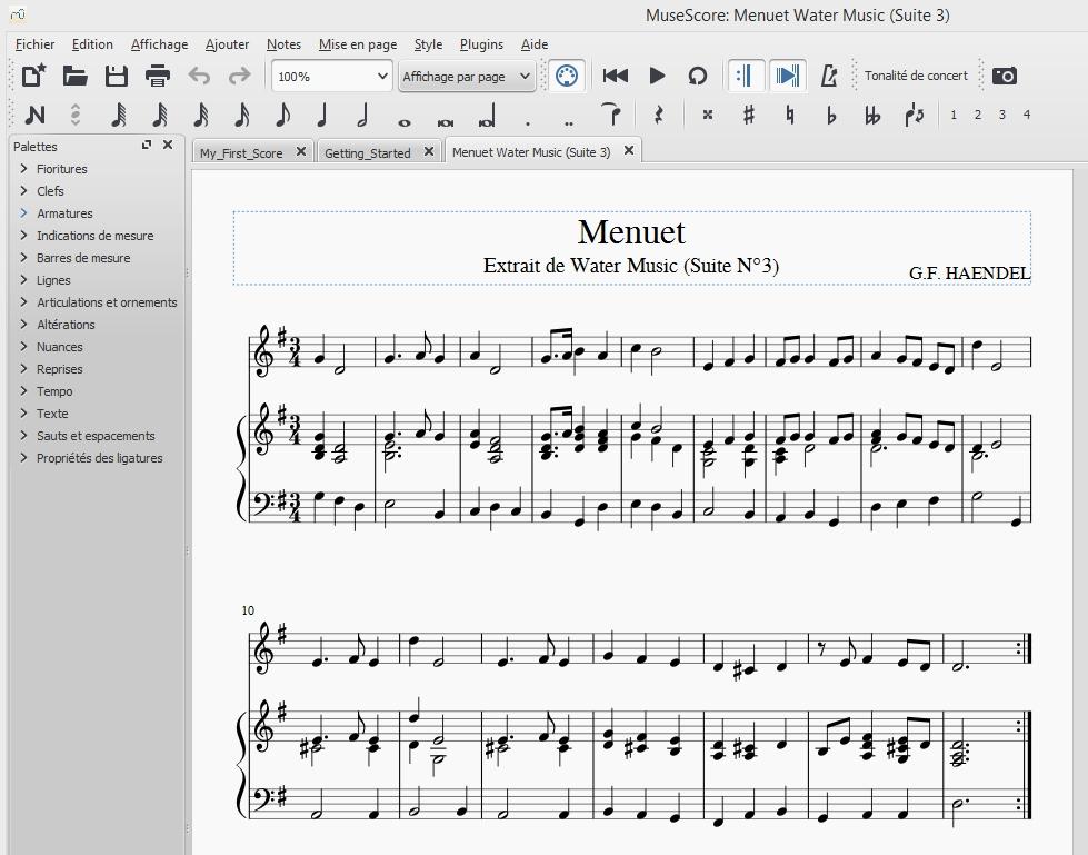 Fm st jean un logiciel gratuit pour crire ses partitions - Logiciel pour couper musique mp3 gratuit ...