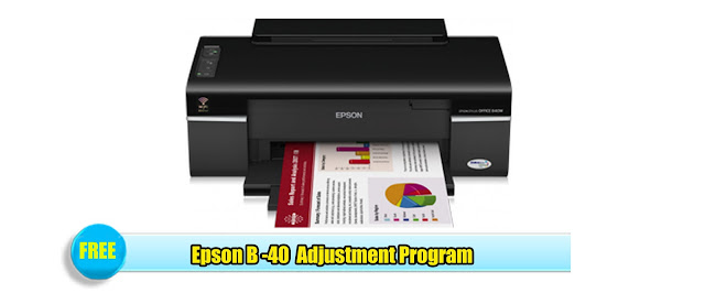 Epson B-40 Adjustment Program