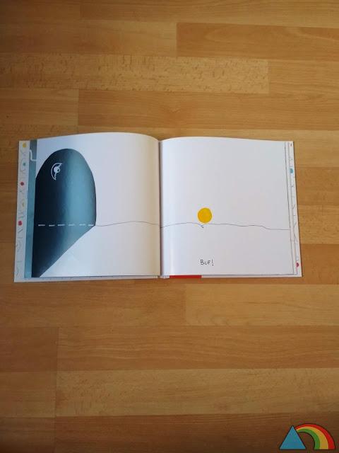 """Interior del libro """"¿Jugamos?"""" de Hevé Tullet"""