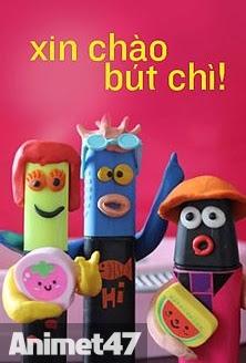 Xin Chào Bút Chì - Hoạt Hình Xin Chào Bút Chì Thuyết minh 2013 Poster