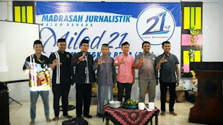 Peringati Milad, FLP Ranting Banyuanyar Adakan Madrasah Jurnalistik