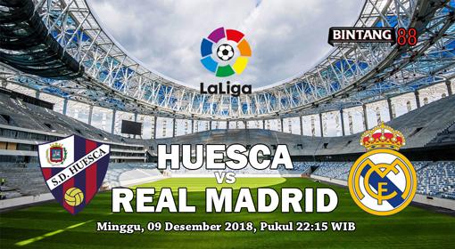 Prediksi Skor Bola Huesca Vs Real Madrid 9 Desember 2018