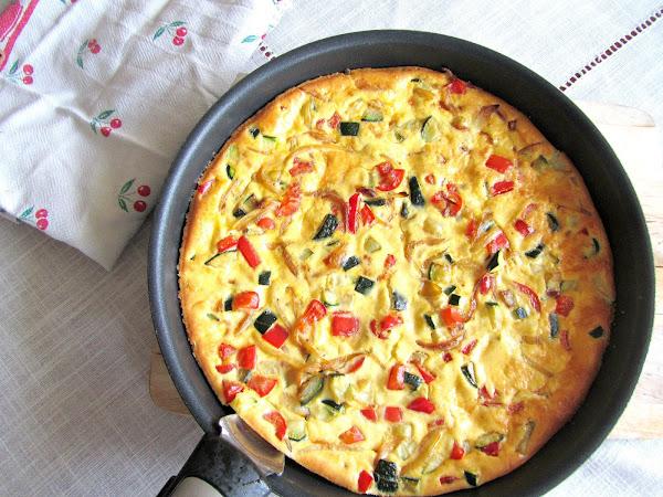 La fritatta un peu d'italie dans l'assiette