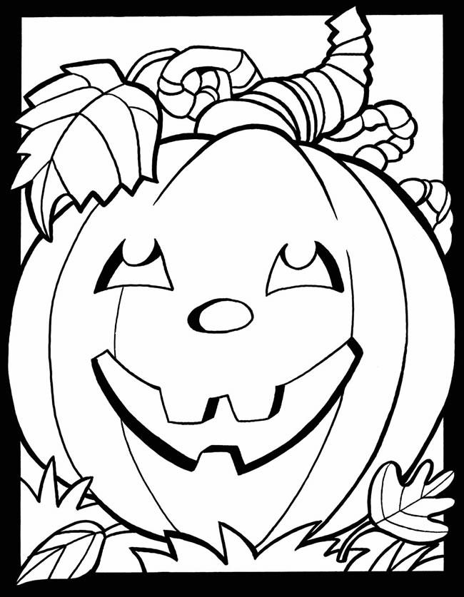 Waco mom free fall and halloween coloring pages for Fall coloring pages for toddlers
