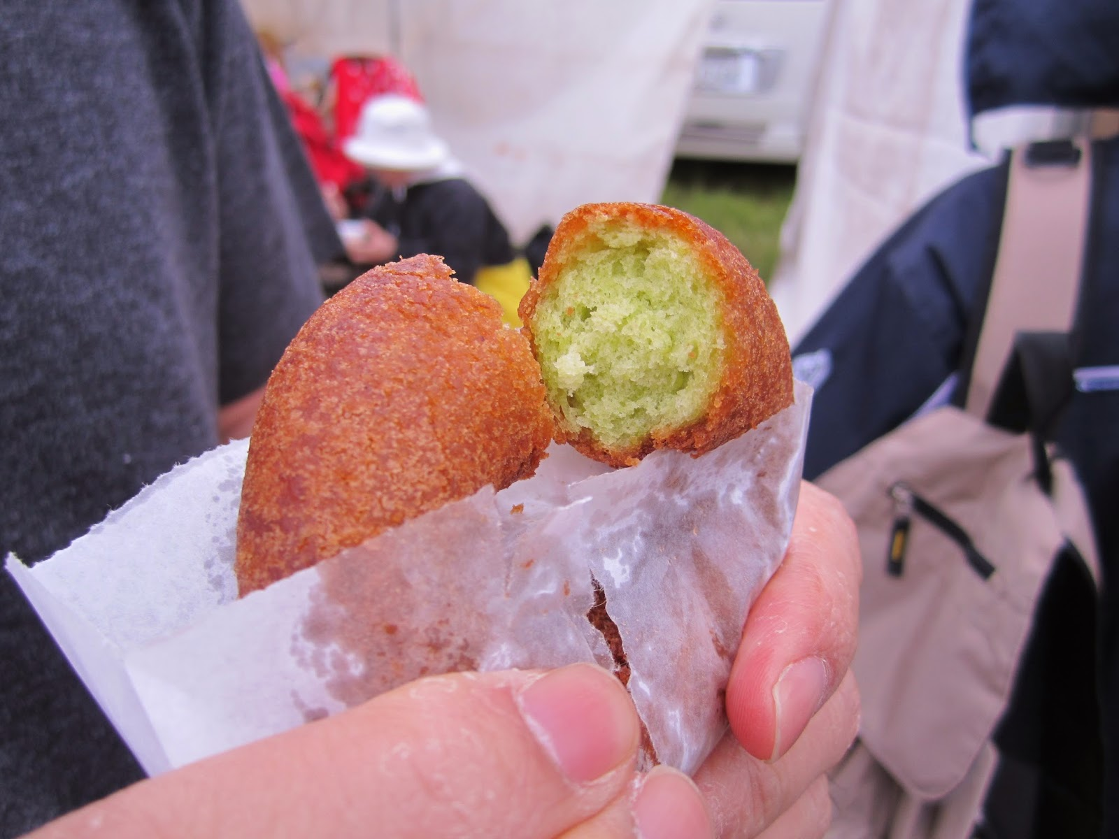 Canola Doughnut (2013 Canola Festival in Yokohama) 菜の花ドーナツ 2014菜の花フェスティバルinよこはま