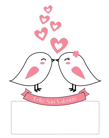 tarjeta de amor para el día de los enamorados