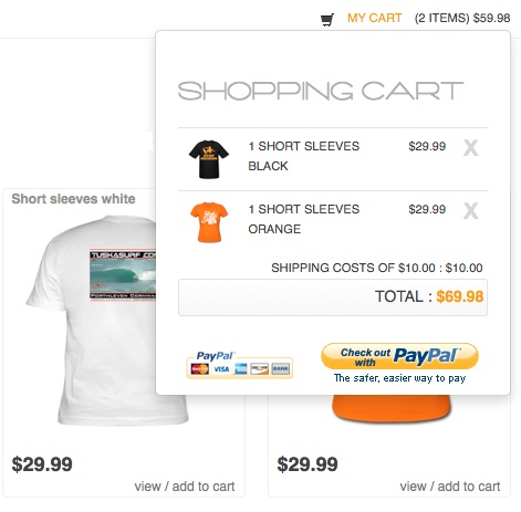 jQuery Plugin for PayPal Shopping Cart