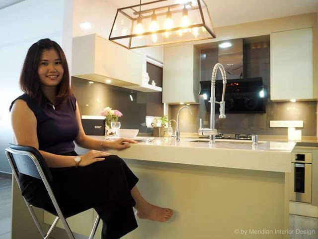 Interior Designer Elishia - Meridian Interior Design, Signature Kitchen Subang