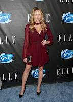 actress hunter king best red carpet dresses photo