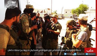 pejuang fsa di ar-Rai aleppo 2