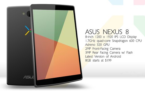 Nexus from HTC Can Be the Name of the Next Google Tablet