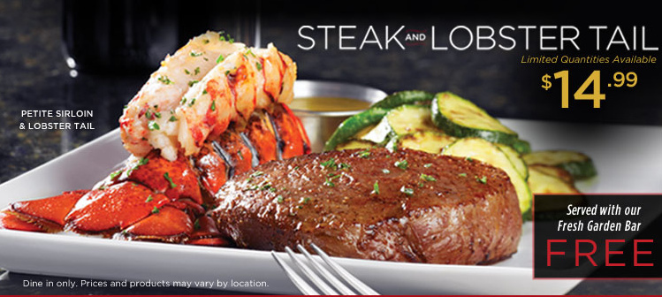 Barbara S Beat Rubytuesday Has Steak And Lobster Tail