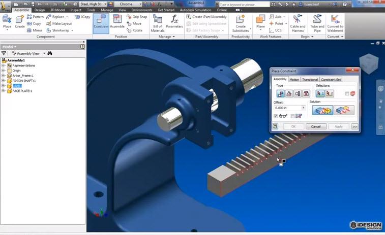 autodesk inventor professional 2013 tutorial pdf