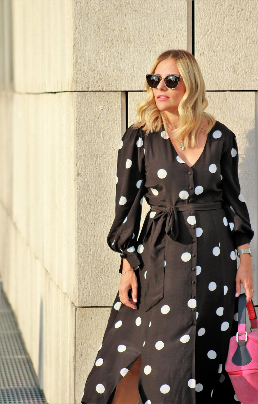 Eniwhere Fashion - Vestito a Pois Mango