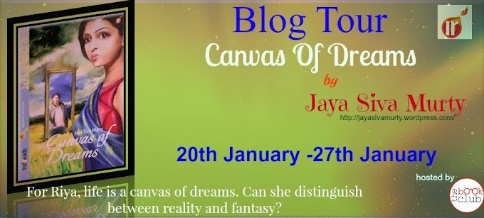 Blog Tour: Canvas Of Dreams by  Jaya Siva Murty