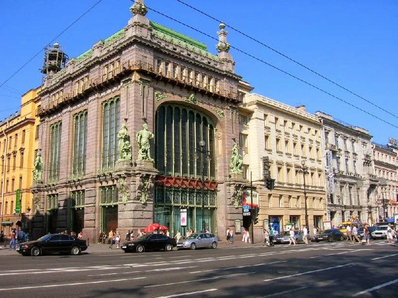 Moscow Map Guide: Eliseevsky Food Hall | Arquiteturas da