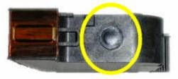 place where the ink is placed hp 40 cartridge