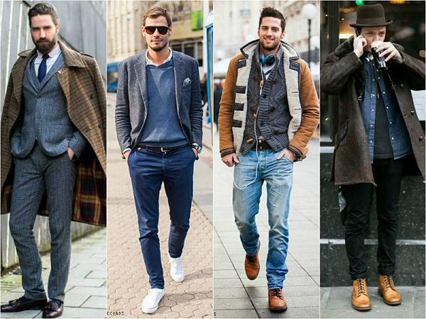Các lỗi thường gặp khi chọn giày da nam và trang phục mùa đông cho chàng
