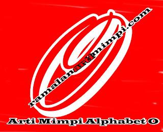 Arti Mimpi Alphabet O