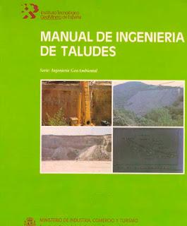 Descargar libro pdf - Manual de ingenieria de taludes - geolibrospdf