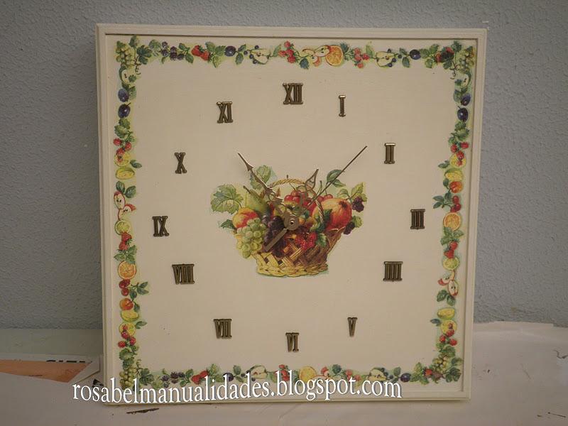 Rosabel manualidades restauracin rosabel manualidades relojes - Rosabel manualidades ...