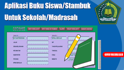 Aplikasi Data Siswa/Stambuk Untuk Sekolah/Madrasah