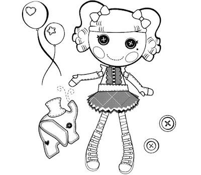 Lalaloopsy%2B14 Desenhos para Colorir da Lalaloopsy – Imagens para Imprimir e Pintar