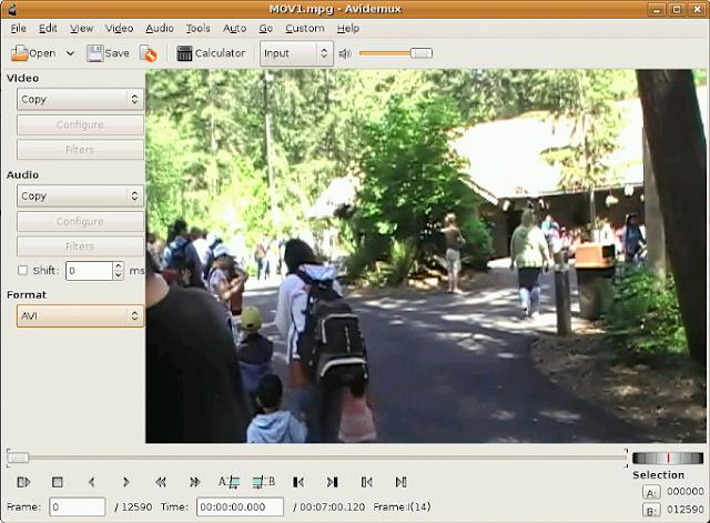 تحميل برنامج avidemux لتقليل حجم الفيديو