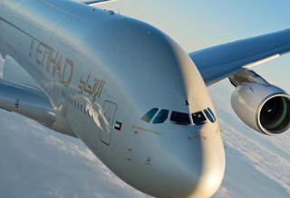 Etihad Airways A380 Flights to Abu Dhabi – Paris route