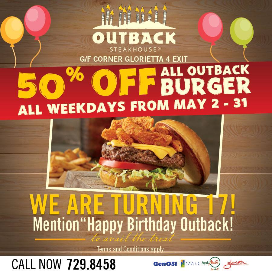 """Outback Steakhouse Coupons and Specials. Outback Steakhouse is a relatively new casual dining chain, founded in In general, the company is very """"coupon happy""""."""
