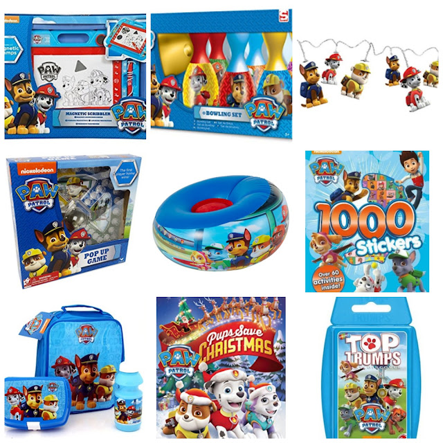 10 Paw Patrol Christmas Stocking Fillers for Under £10
