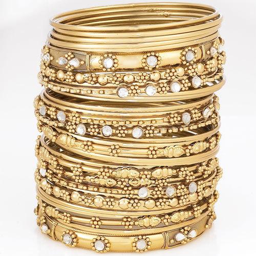 Gold bangles ~ Bangals