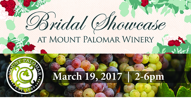 http://www.mountpalomarwinery.com/Weddings-/-Events/Bridal-Expo