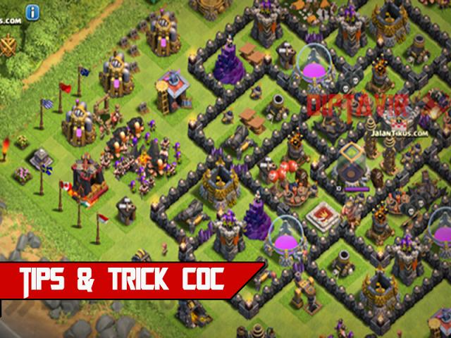 trick-game-clash-of-clans-pertahanan-dan-penyerangan