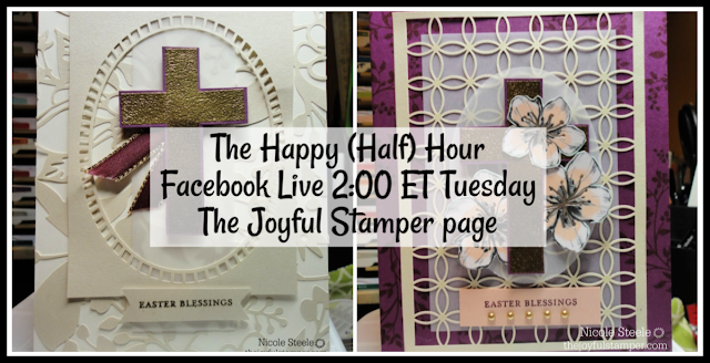 The Happy Half Hour Live Stamping Class | 2 PM ET | Tuesdays on The Joyful Stamper Facebook page
