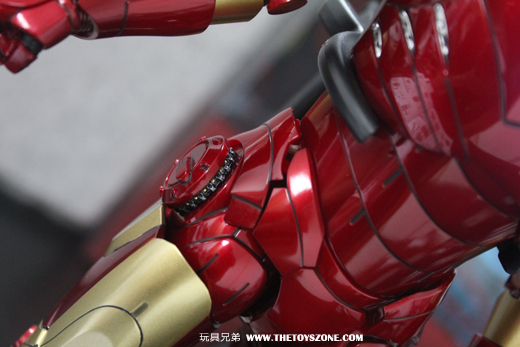 玩具報告)Hot Toys《鐵甲奇俠》IRON MAN MARK 3 合金版- Toys