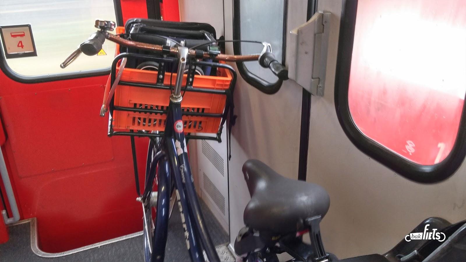 Von der Unmöglichkeit, ein Lastenrad in der Bahn mitzunehmen