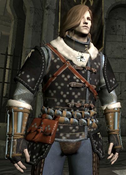 Skyrim Mods Highlights: The Witcher 3 Mastercrafted Feline Gear Armor