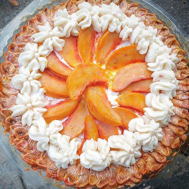 Sabun Buah Peach di salut penuh Krim
