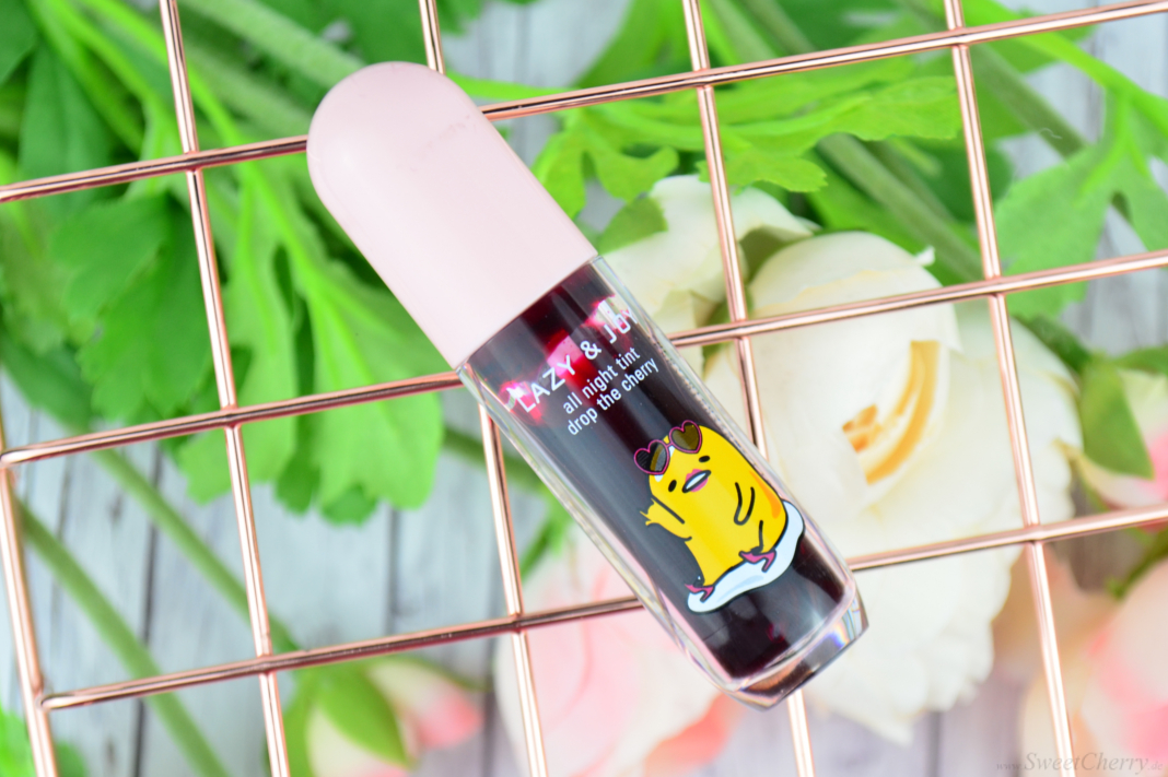 Holika Holika Gudetama Lazy & Joy All Night Tint - Drop The Cherry