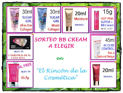 sorteo bb cream