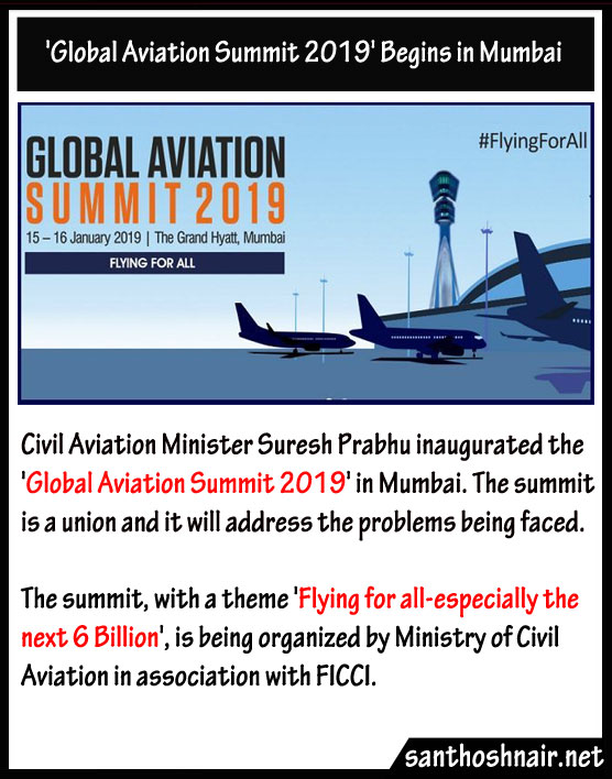 Global Aviation Summit 2019 begins in Mumbai