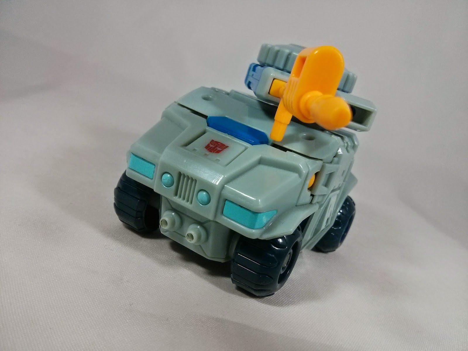 Mech Ideas Gauntlet car mode