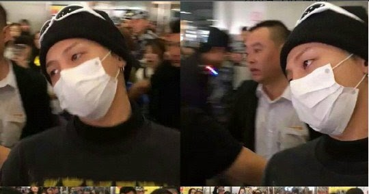 G-Dragon Accused Of Violence Against Female Fan At The Airport?
