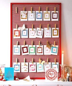 24 handmade advent calendar ideas - Ideas para hacer un calendario ...