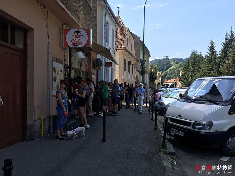 [羅馬尼亞] 布拉索夫/老城區【Gelato Brașov】純粹自然手工的冰淇淋 排隊必吃不後悔